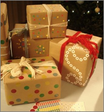 Frugal Green Gift Wrapping Ideas Passionate Homemaking Archive
